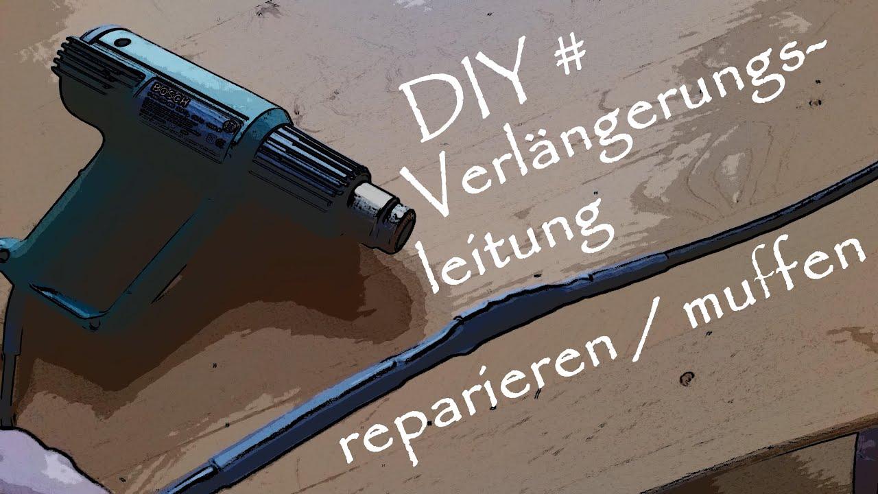 do it yourself verl ngerungsleitung reparieren muffen youtube. Black Bedroom Furniture Sets. Home Design Ideas