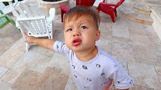 He Is Talking So Much! (One Year Old Copies Mom)