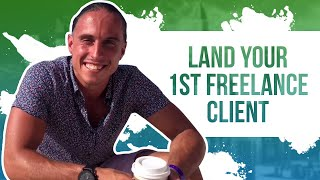 How-to Find Your First Freelancing Client in 2 Minutes (Studenomics TV)