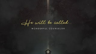 Jesus is called Wonderful Counselor (Advent Season candle of Hope)