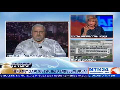 """""""Yo quiero la libertad de Venezuela y sabía era parte de la lucha"""": Vasco Da Costa"""