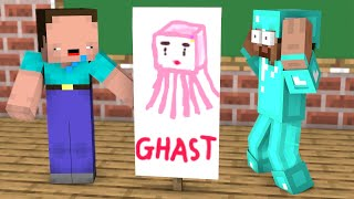 Monster School : Noob vs Pro in Talent Contest - Funny Minecraft Animation