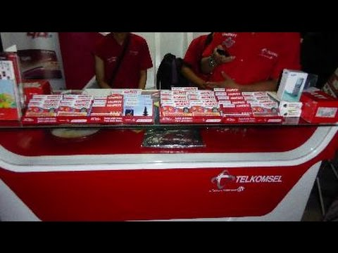 sim card shop review Denpasar airport telkomsel shop BALI ISLAND