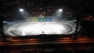 """Стадион """"Саяны"""" в Абакане. 24 ноября 2018 массовое катание"""