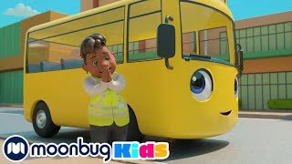 School Bus Song    Moonbug Kids   Little Baby Bum   Go Buster   Morphle   Gecko
