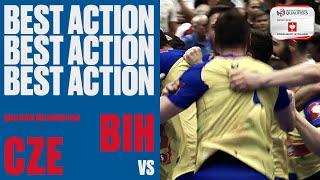 Bosnia make history | Czech Republic vs Bosnia Herzegovina | Men's EHF EURO 2020 Qualifiers