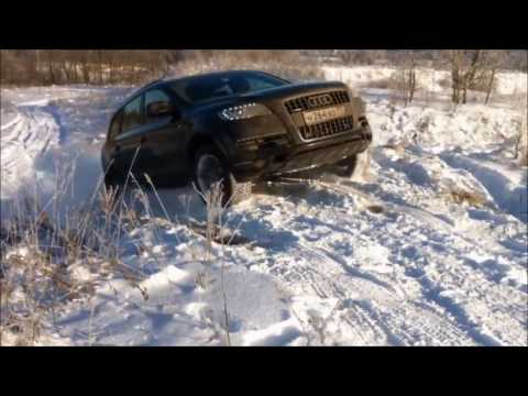 Audi Quadro vs Bmw xDrive Snow Battle