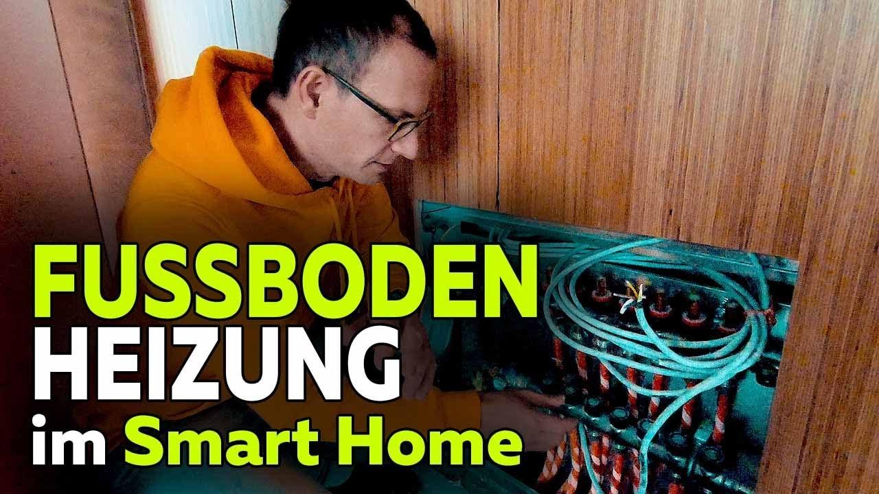 Fussbodenheizung Im Smart Home Neubau Heizkreisverteiler