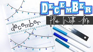 DECEMBER 2019 ❄️ Plan With Me | Bullet Journal Monthly Setup