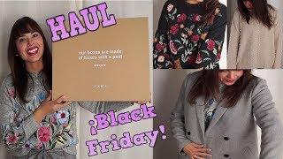 ¡SUPER HAUL BLACK FRIDAY! : Zara, Pull&Bear, Stradivarius, Lefties y Bershka / DaY_BB