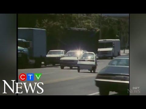 CTV News Archive: Test driving Honda's three-wheeled car