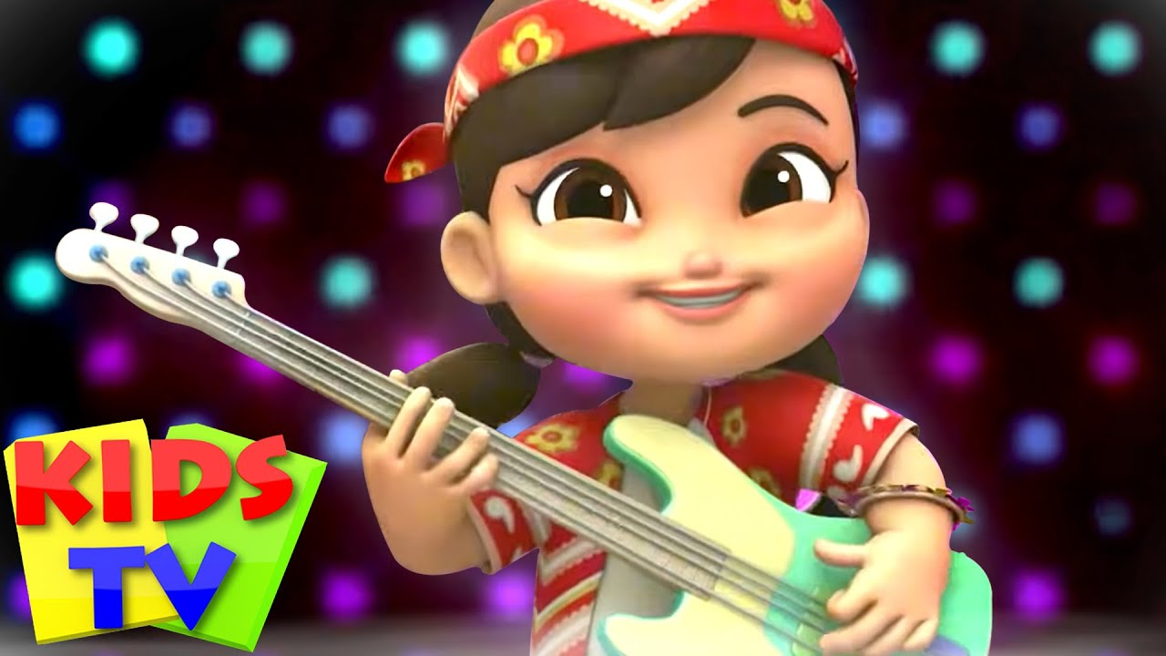 Musical Instruments Song | Music & Dance Song + More Nursery Rhymes & Baby Songs by Kids Tv