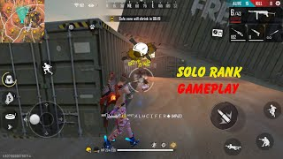 SOLO RANK GAMEPLAY |FREE FIRE | DFG