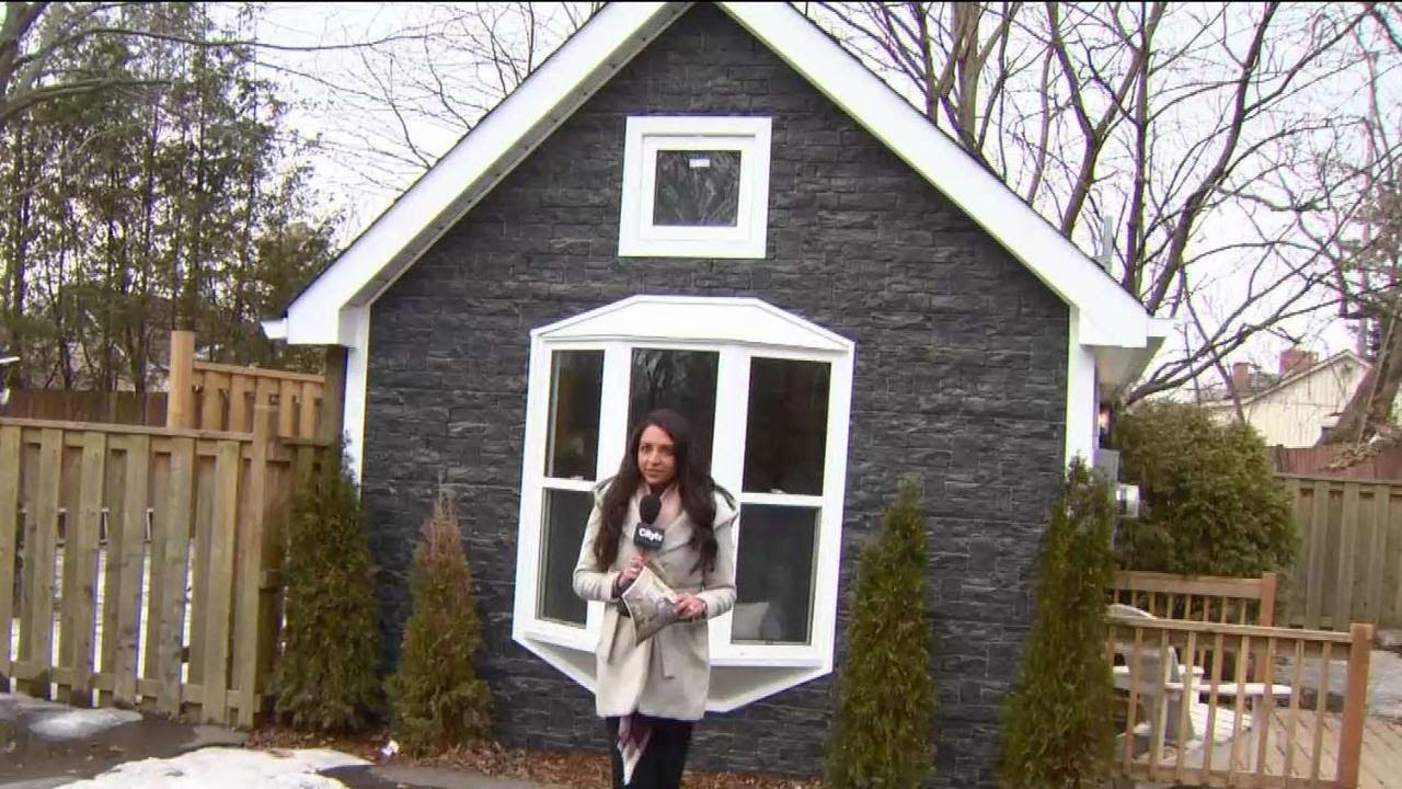 Oshawa Tiny Home Sparks Big Interest Youtube