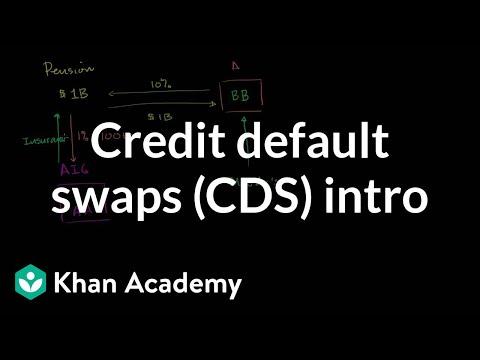 Credit default swaps (CDS) intro | Finance & Capital Markets | Khan Academy