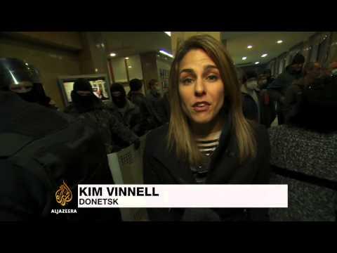 Ukraine on alert amid pro-Russian unrest