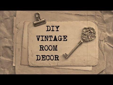 DIY Vintage Room Decor #2 | Haley & Bronwen