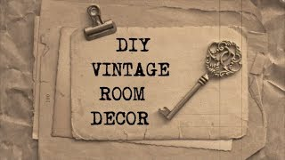 DIY Vintage Room Decor #2 | Haley & Bronwen