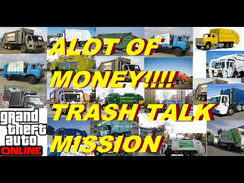 ★ GTA V Online Trash Talk ★(ALOT OF CASH MONEY)★ (GTA 5 Online Gameplay Trash Talk Mission) SOLO