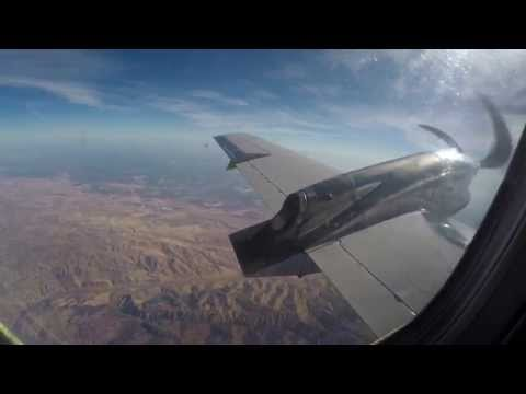 United Express (SkyWest) Embraer 120 Brasilia - San Francisco to Bakersfield