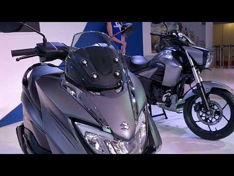 Suzuki Burgman 125 Scooter  India Launch & details - Auto Expo 2018 #ShotOnOnePlus