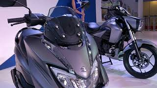 Suzuki Burgman 125 Scooter  India Launch & details - Auto Expo 2018 #ShotOnOnePlus