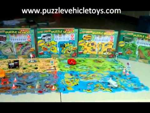 Puzzle Vehicle Toys