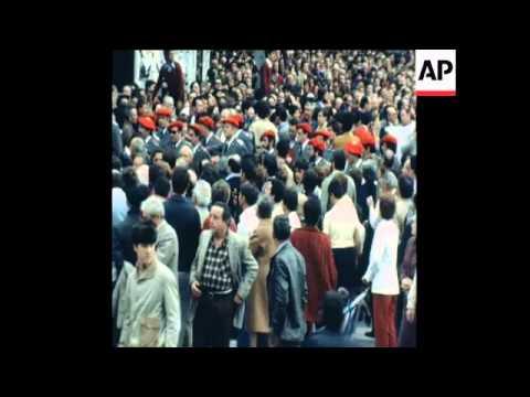 SYND 27 3 81 ANTI-ETA TERRORISM DEMONSTRATION