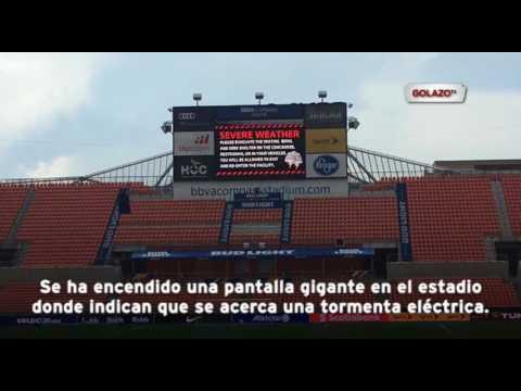 El Honduras vs Guyana podría sufrir retrasos por anuncio de tormenta eléctrica