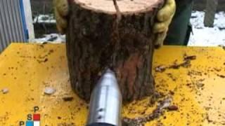 Repeat youtube video Kúpos fahasító tesztje több fán