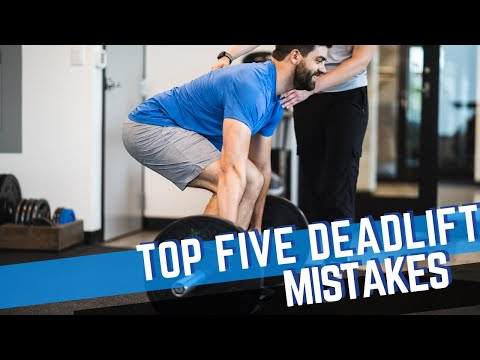 The Most Common Deadlift Mistakes (and How To Fix Them!)