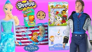 Blind Bag Surprises Unicorno, Frozen Disney Mystery Minis, Shopkins Season 3 With Queen Elsa & Hans