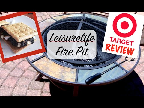 TARGET REVIEW Leisurelife Firepit | It&#39;s S&#39;MORES time!!! Mmm<a href='/yt-w/ccamxnG6Pjk/target-review-leisurelife-firepit-it39s-s39mores-time-mmm.html' target='_blank' title='Play' onclick='reloadPage();'>   <span class='button' style='color: #fff'> Watch Video</a></span>