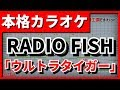 【フル歌詞付カラオケ】「ウルトラタイガー」(RADIO FISH)  (ULTRA TIGER)