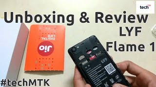 Hindi- Lyf Flame 1 Unboxing and Review