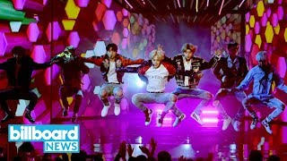 AMAs 2017: BTS Makes US TV Debut with 'DNA' Performance | Billboard News MP3