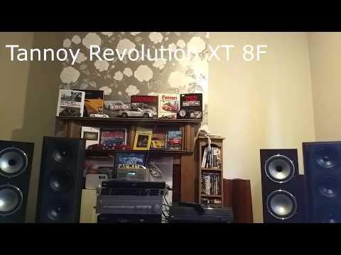 Tannoy Revolution XT 8F vs KEF Reference 1053  rock music