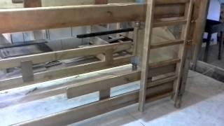 Кровать двухъярусная массив сосна(, 2015-01-05T15:59:15.000Z)