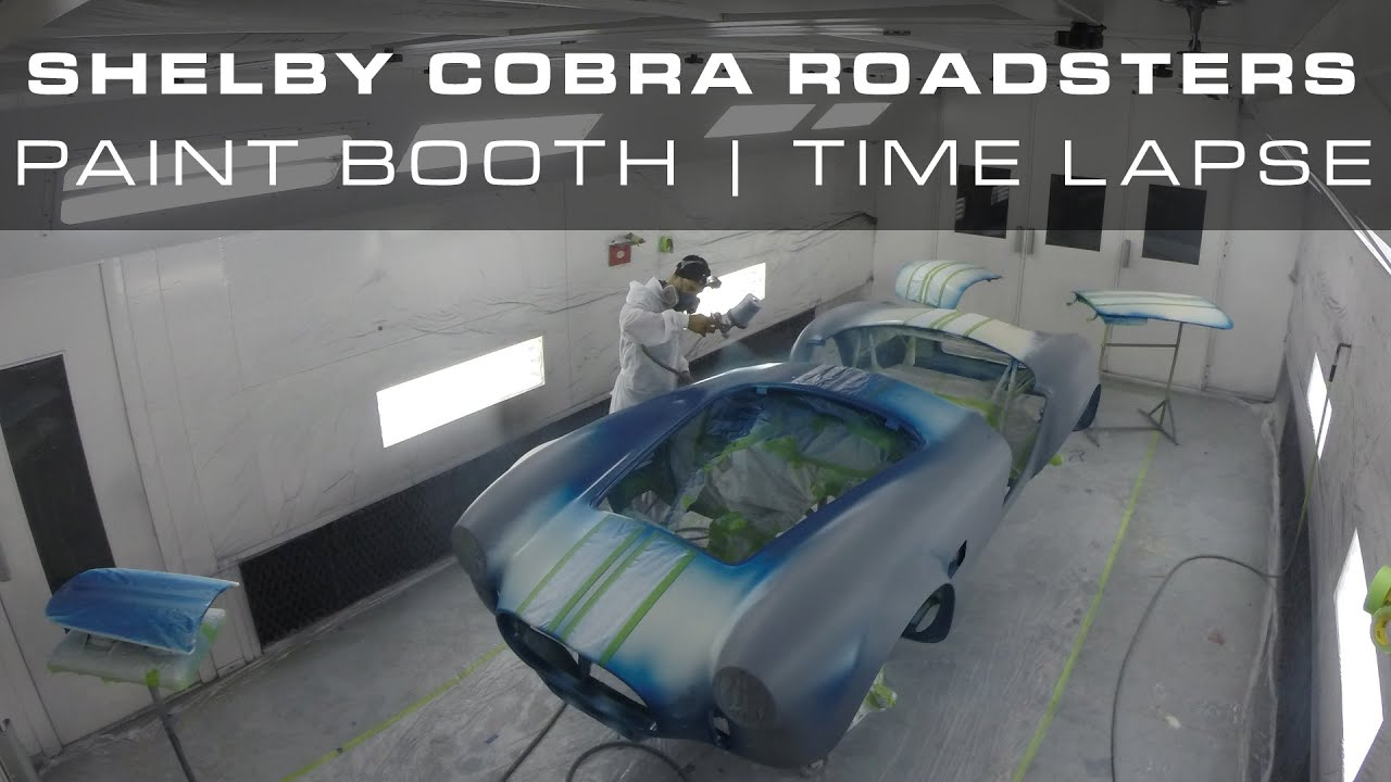 Shelby Cobra Roadsters - Paint Booth Time Lapse