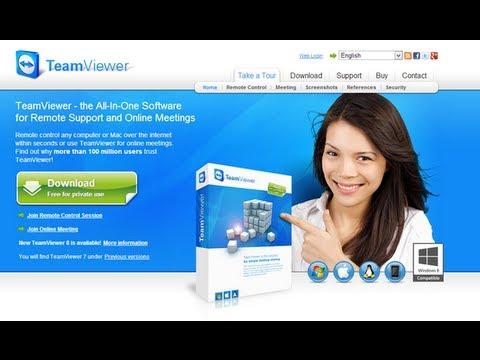 Como Descargar e Instalar Teamviewer 8 FULL - Gratis - Sin Problemas - 100% Funcional - HD