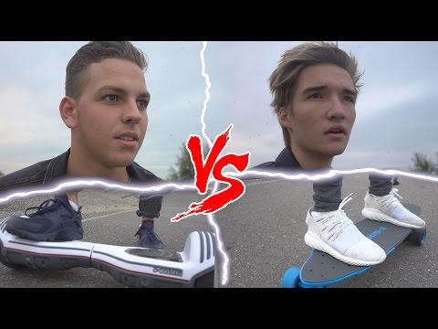 Oxboard Stoel Kopen : Oxboard vs boosted board race gio vs jasper