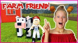 I MADE A NEW FARM FRIEND!