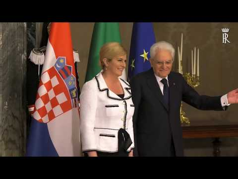 Presidente della Repubblica di Croazia, S.E. la Signora Kolinda Grabar-Kitarović