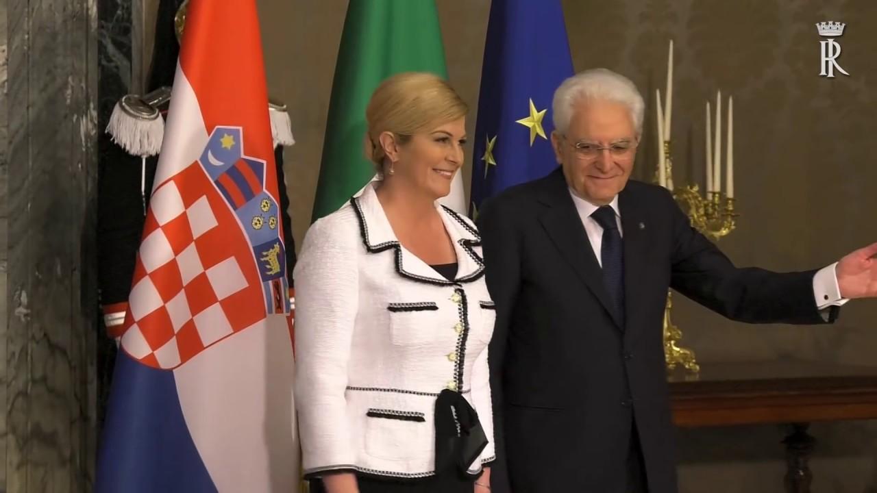 Presidente Della Repubblica Di Croazia S E La Signora Kolinda Grabar Kitarovic