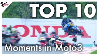Top 10 moments in Moto3 from 2019