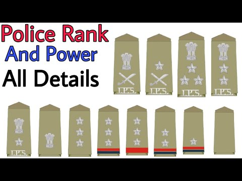 All Police Ranks In India   Salary   Promotion   Post   Designation   पद   पुलिस   Constable To DGP 