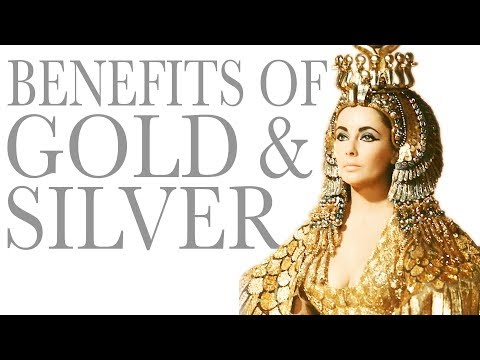 BENEFITS OF WEARING GOLD AND SILVER
