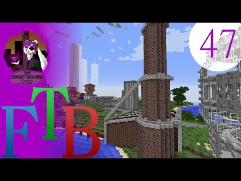 minecraft FTB: the ferret business - 47 - boardwalk talk