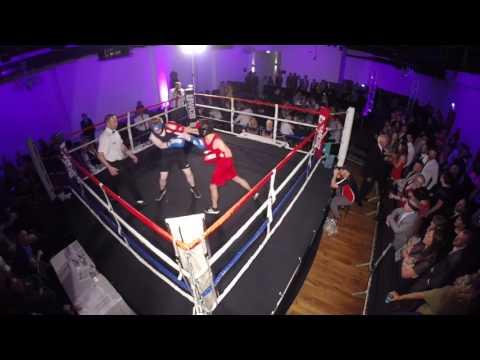 Ultra White Collar Boxing | Belfast | Willy Heath VS Daniel Forrester