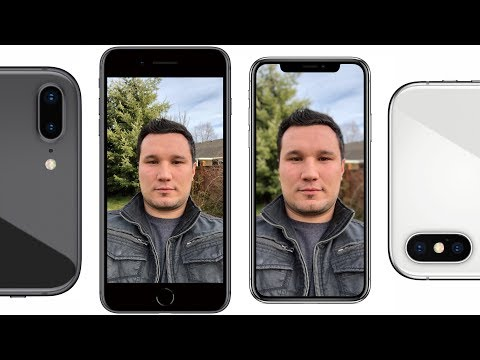 IPhone X Vs 8 Plus Camera Comparison